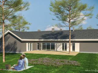 Индивидуальный жилой дом - 230 м2 от Архитектор Тимофей Раков Скандинавский