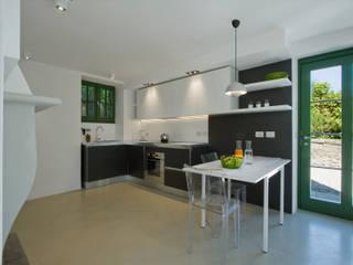 Chantal Forzatti architetto Cuisine intégrée Noir
