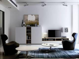 Ambiente salón moderno:  de estilo  de Muebles Fran Barcelona