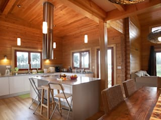 Dapur built in oleh Rusticasa, Rustic Parket Multicolored