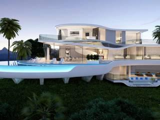 Casas de estilo moderno de Miralbo Urbana S.L. Moderno