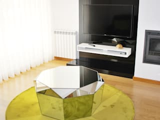 Sala de estar:   por Nervura Interiores