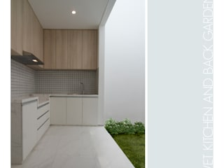 Wet Kitchen:  Dapur by studiopapa