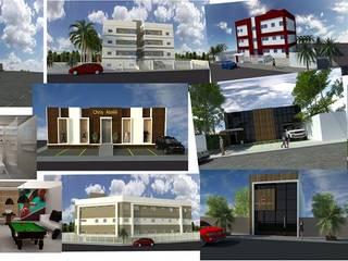 Maisons modernes par Lorena Cavalcanti Arquitetura Moderne