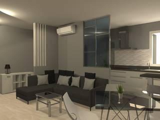 Apartamento en el centro de la ciudad Cocinas de estilo moderno de Sergio Nisticò Moderno