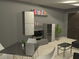 Apartment in city center Modern dining room by Sergio Nisticò Modern