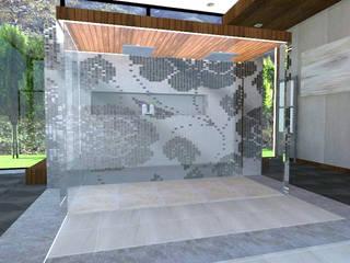 Diseño de baño CDMX de Interiores 25