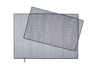 PIXILATED 001 FLAT´N - Shape and Style WohnzimmerAccessoires und Dekoration Wolle Grau