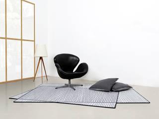 PIXILATED 001 FLAT´N - Shape and Style EsszimmerAccessoires und Dekoration Wolle Grau