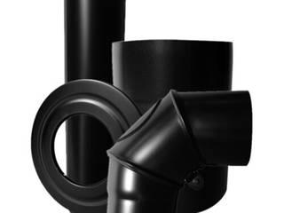 CANNE FUMARIE PER STUFE A LEGNA Pareti & Pavimenti in stile industriale di CANNE FUMARIE ONLINE Industrial