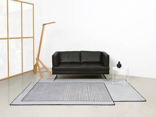 SCRIBBLED 001 FLAT´N - Shape and Style WohnzimmerAccessoires und Dekoration Wolle Grau