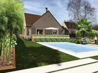 JARDIN DE CAMPAGNE // Cormeilles-en-Parisis (95): Jardin de style  par Sophie coulon - Architecte Paysagiste