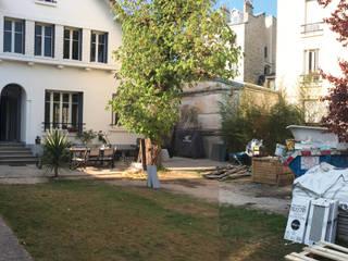 JARDIN FLEURI AUX TOUCHES EXOTIQUES // Asnières-sur-Seine (92) Sophie coulon - Architecte Paysagiste Jardin original