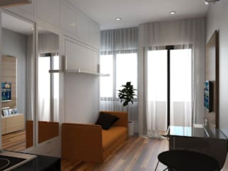 APARTEMENT CITY TERRACE JSK STUDIO DESIGN