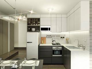 DM 60: Cocinas de estilo  por blank proyectos