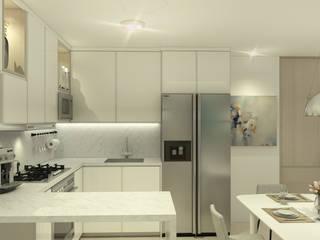 DM 74: Cocinas de estilo  por blank proyectos