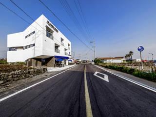 BlancBleu: 건축사사무소 숲의  다가구 주택