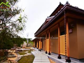 客製化設計-樂活山莊-日式健康綠建築 根據 詮鴻國際住宅股份有限公司 日式風、東方風