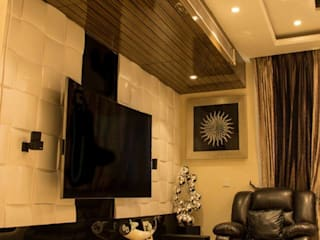 Your Home Should Tell The Story Of Who You Are, And Be A Collection Of What You Love.. Rustic style living room by FYD Interiors Pvt. Ltd Rustic