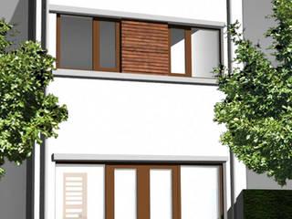 Vrije kavel woning:  Huizen door YA Architecten, Modern