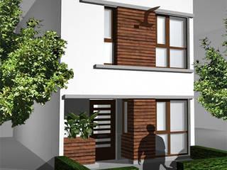 Maisons de style  par YA Architecten