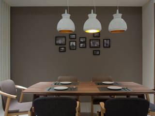 北歐風舒適雅宅:  餐廳 by 哲嘉室內規劃設計有限公司, 北歐風