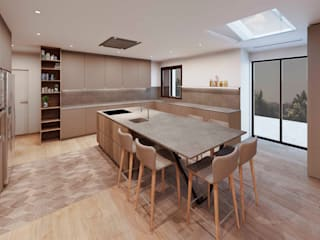 Kitchen by Cáliz Vázquez Arquitectura e Interiorismo