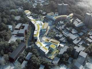 Andy Wen of Aedas-designed Taipei European School Yangmingshan Campus Redevelopment breaks ground Modern schools by Architecture by Aedas Modern