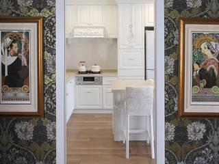 トータルコーディネート実例 クラシックデザインの キッチン の アニーズ株式会社 クラシック