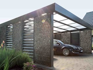 Carport by Steelmanufaktur Beyer, Modern