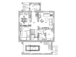 План 1 этажа:  в . Автор – Вадим Галина Кожевниковы