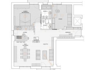3VM_Ristrutturazione di una casa-atelier d'artista a Como di Chantal Forzatti architetto Eclettico