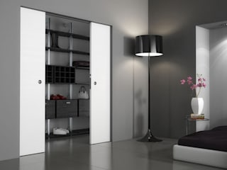 Inbouw schuifdeursystemen met gladde afwerking Moderne kantoorgebouwen van BestFix-Schuifdeursystemen Modern
