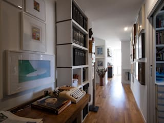 Chantal Forzatti architetto Couloir, entrée, escaliers originaux