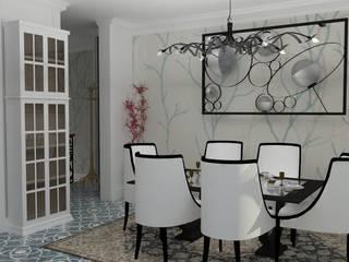VIVIENDA UNIFAMILIAR Comedores de estilo colonial de MTD studio and design Colonial