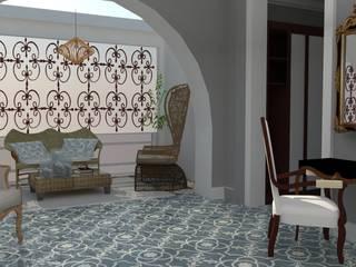 VIVIENDA UNIFAMILIAR Dormitorios de estilo colonial de MTD studio and design Colonial