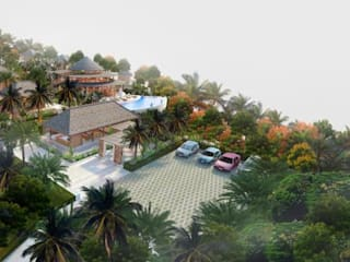 Tropical style hotels by Skye Architect Tropical