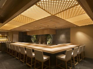 Sushi Hattori Roppongi モダンな商業空間 の http://invi-inc.net/ モダン