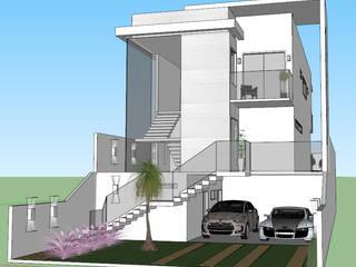 Residência Aruã Brisas - 001 Casas modernas por PIROLLO ARQUITETURA Moderno