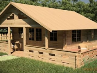 casas de madeira : Casas  por safarispirit lda