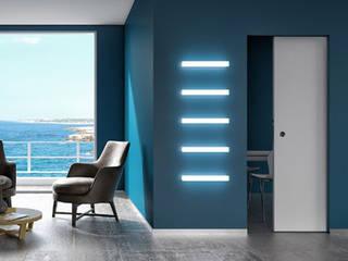 Inbouw schuifdeursystemen met gladde afwerking Moderne hotels van BestFix-Schuifdeursystemen Modern