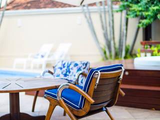 Sílvia Bittencourt Arquitetura e Interiores 庭院泳池
