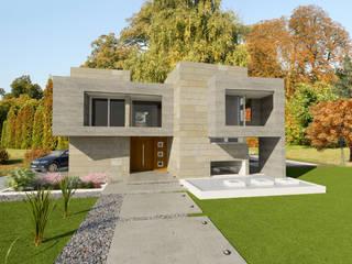 Single family home by ARQUITECTURA Y EMPRENDIMIENTOS,