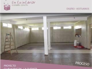 Reforma y ampliacion de club Huracan:  de estilo  por En Tu Interior