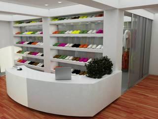 Mostrador/ recepción/ caja - Showroom: Oficinas y Tiendas de estilo  por En Tu Interior