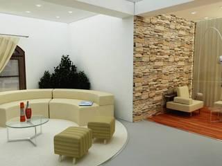 Sala de estar - Showroom: Oficinas y Tiendas de estilo  por En Tu Interior
