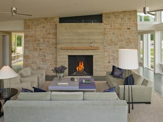 BOWA - Design Build Experts Modern living room