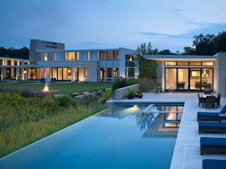Green Building Features Abound in Bluemont, Virginia Custom Home:  Pool by BOWA - Design Build Experts