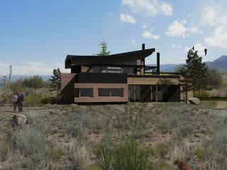 casa cernicalo: Casas de estilo  por almasurarquitectura