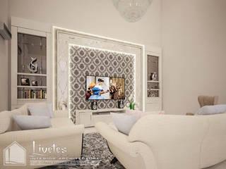 Ms. Bella's Private Residential PT Kreasi Cemerlang Abadi Ruang Keluarga Klasik Kayu White